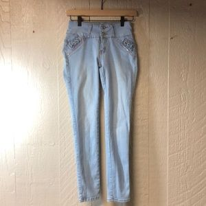 Silver Diva Jeans, Size 5